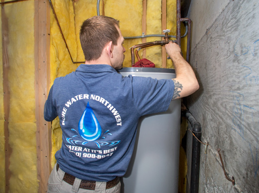 Pure Water Northwest installs whole home arsenic specialized unit