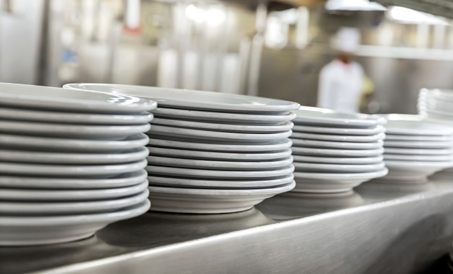 Cleaner dishes with water treatment
